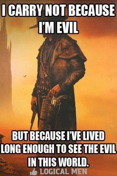 Recognize evil.