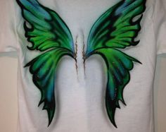 Airbrushed Fairy Wings T-shirt