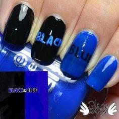 My soloshot for #nailswithigfriends theme of Favourite Album. I picked Backstreet Boys' Black & Blue.   #nailart #nailpromote #angenailart #glacenailart #scra2ch #instanails #nailartoohlala #showmynails #nailartaddict #nailsofinstagram #nailartlove #nailstagram #feature_nailart #alltheprettynails #nailartnation #hotnailspromote #sgnailartpromote #nailpromote278 #nailartpromote #nailporn #nails2inspire #looknaildecor #showmynails #nailitdaily #nailsofig #nailfeature #polishlicious…