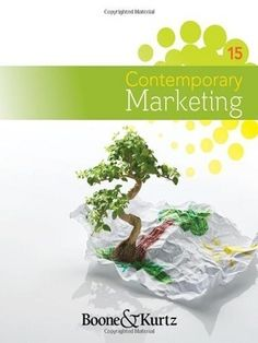 Let's throw your worry of exam away with Free Test Bank for Contemporary Marketing 15th Edition by Boone. This page provides friendly marketing free online useful test bank questions and full answers to help students of marketing get comprehensively contemporary marketing which is organised closely your course.