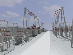 Duxiling 220 kV Substation | China Power Construction Corporation and Jiangxi Electric Power Design Institute | Pingxiang, Jiangxi, China