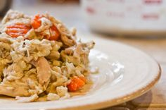 Homemade Dog Food Recipe | A CrockPot Chicken Treat for Your Dogs    I made this one.  It was easy and the dogs loved it.  I even tried it myself.  Yummy.