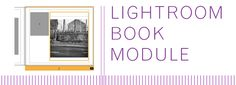 LIGHTROOM'S BOOK MODULE