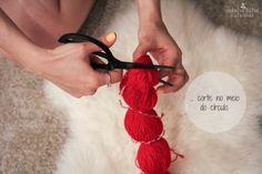 InspireBlog – Lifestyle DIY | Como fazer pompons de lã em série - InspireBlog - Lifestyle