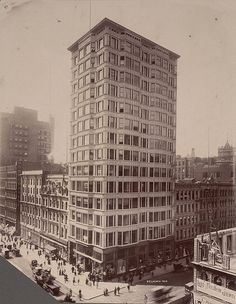 Reliance Building, Chicago - DB - A. D. White Architectural Photographs, Cornell University Library