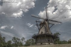 The Fabyan Windmill is an authentic, working Dutch windmill dating from the 1850s located in Geneva, Illinois