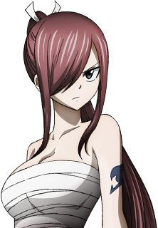 - Fairy Tail - Erza