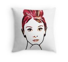 """""""audrey hepburn drawing"""" Womens Fitted T-Shirts by ralphyboy 