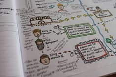 Book of Mormon story maps