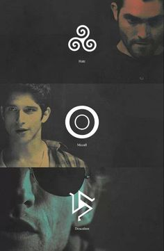 Teen Wolf... I guess I'm part of the Hale pack my Celtic charm necklace has his symbol...