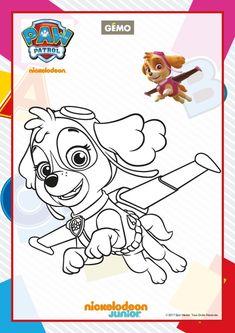 ausmalbilder paw patrol zum ausdrucken - malvorlagen für kinder   bastelarbeiten