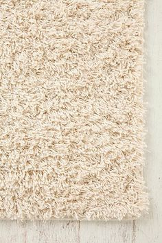 Winter style Shag Rug -perfect for adding texture to a room. #urbanoutfitters