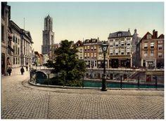 Utrecht. Oude Gracht Stadhuisbrug
