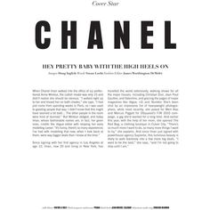 Chanel Iman for The Block Summer 2010 by Doug Inglish Newsletter Layout, Newsletter Design, Editorial Layout, Editorial Design, Best Fashion Magazines, Fashion Blogs, Feed Insta, Chanel Iman, Coco Chanel
