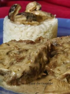 Food for thought: Μοσχάρι Αλα Κρεμ με Μανιτάρια Shii – … – Food for Healty Greek Recipes, Desert Recipes, Mexican Food Recipes, Food Network Recipes, Food Processor Recipes, Low Sodium Recipes, Different Recipes, Tasty Dishes, Food For Thought