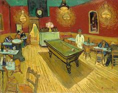 The Night Café by van Gogh was painted in September 1888 while he was living in Arles. Find out more about this work and why it is one of Van Gogh's most famous works. Vincent Van Gogh, Painting Frames, Painting Prints, Fine Art Prints, Painting Art, Van Gogh Paintings, Great Paintings, Van Gogh Pinturas, Arte Van Gogh