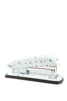 printed stapler FLORAL