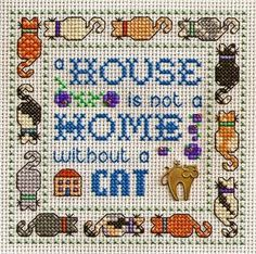 Without a Cat.  Free pattern.  Graph and colour legend are available as .pdf from blog.
