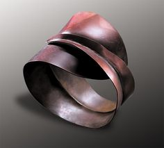 Submission by Robert Lee Morris for the 2003 fold American Jewelry Design Counci… – 2019 - Metal Diy Mixed Metal Jewelry, Copper Jewelry, Wire Jewelry, Jewelry Art, Handmade Jewelry, Jewelry Design, Unique Jewelry, Jewellery, Copper Work