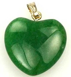 3-4 (20mm) Aventurine, Green Heart