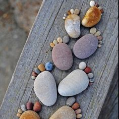 Rocks.  Love rocks. little footsteps