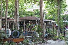One of my favorite restaurants in Sarasota: Owen's Fish Camp!