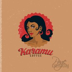 Rebrand: logo for Karamu Coffee