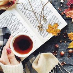 Fall - time for tea and books Autumn Cozy, Autumn Fall, Autumn Tea, Coffee And Books, Book Photography, Product Photography, Autumn Inspiration, Bookstagram, Warm And Cozy