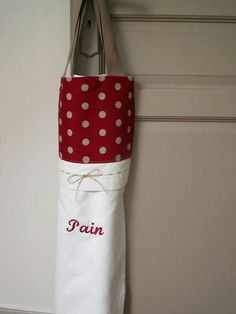 Sac à pain Sacs Tote Bags, Coin Couture, Bread Bags, Easy Sewing Projects, Handmade Bags, My Bags, Boss, Cross Stitch, Quilts