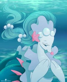 Sea Siren by MomoMistress.deviantart.com on @DeviantArt (Primarina)