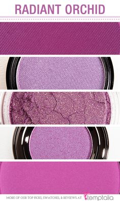 5 Shades of Radiant Orchid for Eyes