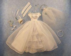 Vintage Mattel Barbie Bride's Dream #947, circa 1963-1965, Complete