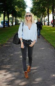 Parisienne: THE BLUE SHIRT