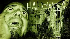 Spookachtige collage voor Halloween