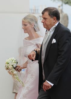 Charlene Wittstock and Prince Albert Are Married! See the Gorgeous Wedding Gown From All Angles