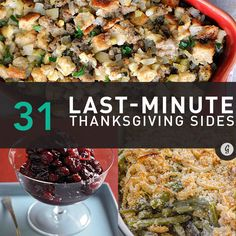 31 #Healthy, Last-Minute #Thanksgiving Side Dish Recipes