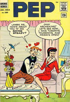 PEP 160, Archie Comic Publications, Inc. https://www.pinterest.com/citygirlpideas/archie/