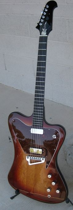 Smith non-reverse Frontier guitar hand made from scratch by Neil Smith - NO CNC