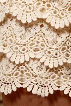 Sweet Layered Crochet Lace Elastic Waist Shorts For Women (APRICOT,FREE SIZE) China Wholesale - Sammydress.com