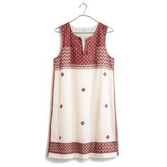 Madewell - Stitchmosaic Shiftdress Cute & comfy summer dress!