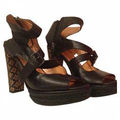Black leather pumps MARC BY MARC JACOBS Black