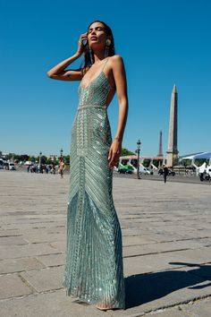 Nefertiti Sequined Tulle Gown by Cucculelli Shaheen Couture Dresses, Fashion Dresses, Evening Dresses, Prom Dresses, Summer Dresses, Formal Dresses, Wedding Dresses, Casual Dresses, Corset Dresses