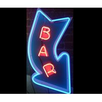 arrow neon bar signs - Google Search