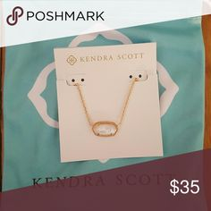 Elisa Rose Gold Pendant Necklace in Ivory Pearl Whether layered with a statement necklace or worn on its own, our classic Elisa Pendant Necklace is a delicate accessory that will soon be your favorite go-to. Kendra Scott Jewelry Necklaces
