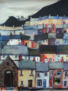 Cottage paintings by a Welsh artist, Beatrice Williams | Art by Beats