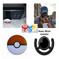 Pokemon Go Master Pokeball Phone Grip Finger Holder - http://amzn.to/2cPYgtB