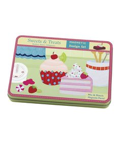 Another great find on #zulily! Sweet Treats Magnetic Build-It Set by Mudpuppy #zulilyfinds