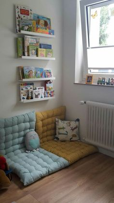 Interesting Reading Room Ideas for Kids Big Girl Rooms, Boy Room, Baby Room Decor, Bedroom Decor, Reading Nook Kids, Reading Room, Toddler Rooms, Kids Room Design, Girls Bedroom