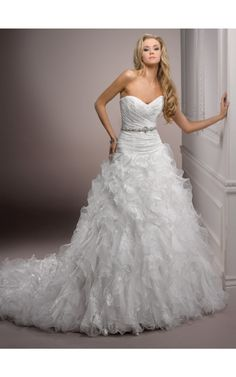 Order a Maggie Sottero Lillith Bridal Gown at The Wedding Shoppe today Maggie Sottero Wedding Dresses, Wedding Dress Sizes, Designer Wedding Dresses, Gown Designer, Bridal Gowns, Wedding Gowns, Lace Wedding, Organza Bridal, Quinceanera