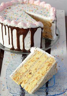 Queen of Grecce Milka Chocolare Cake Torte Recepti, Kolaci I Torte, Cupcake Recipes, Baking Recipes, Cookie Recipes, Rodjendanske Torte, Torta Recipe, Sweet Cooking, Gingerbread Cake